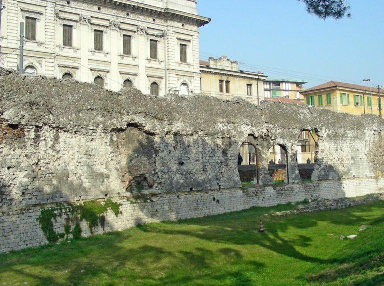 Руины древнеримской арены, Падуя