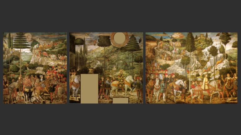 Шествие волхвов. 1459–1460