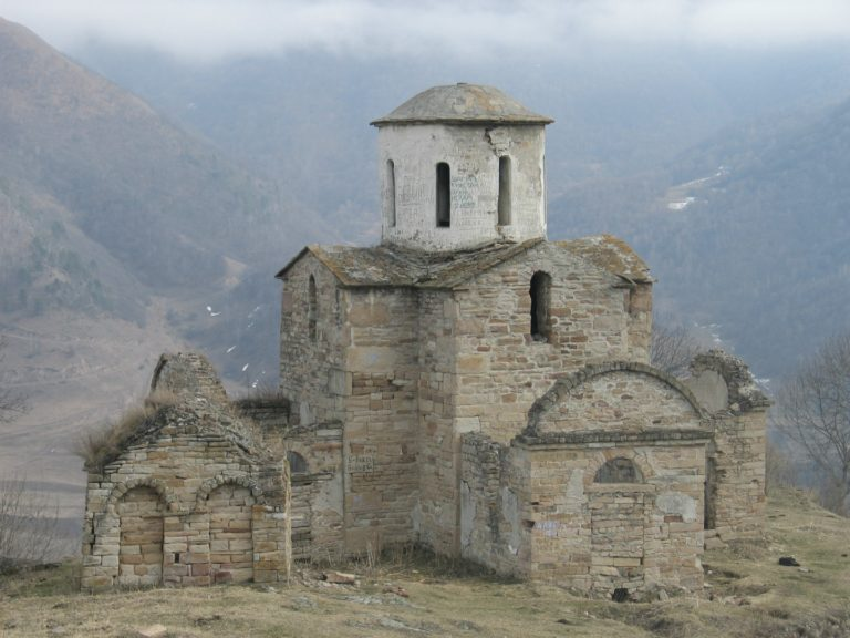 Сентинский храм. 965 г.