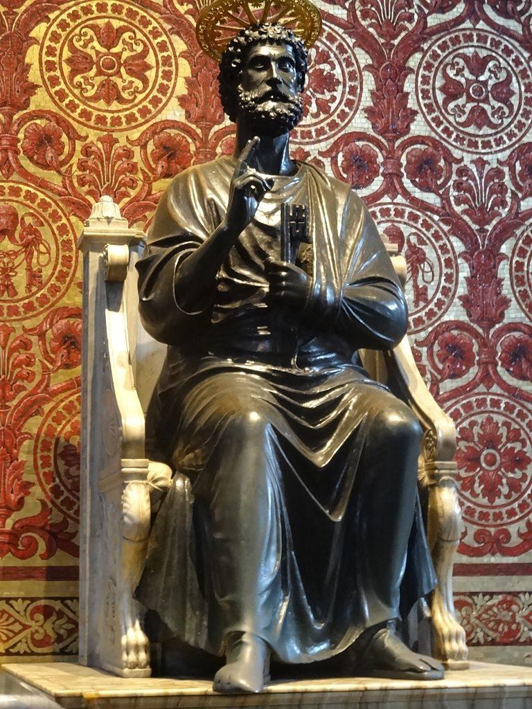 Статуя св. Петра. Ок. 1300