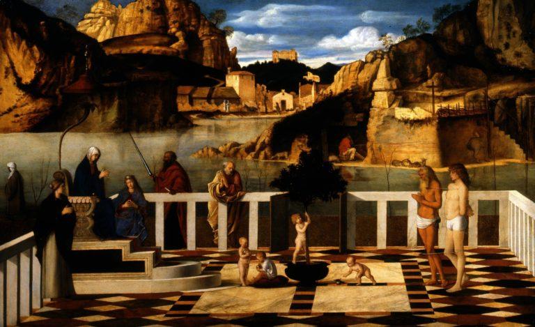Священная аллегория. 1490–1500