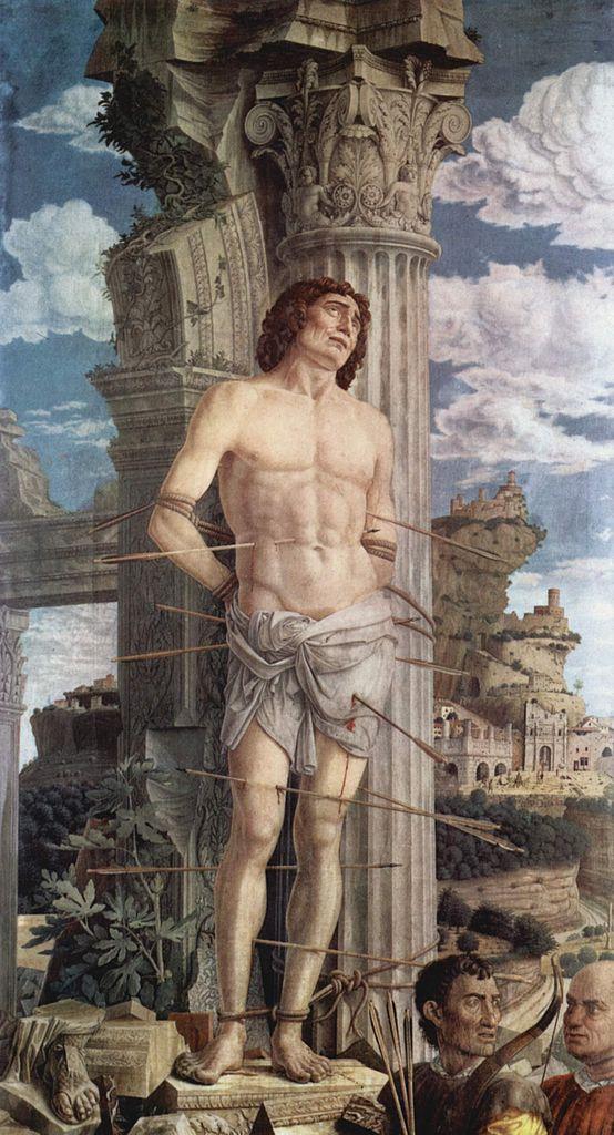 Святой Себастьян. 1480
