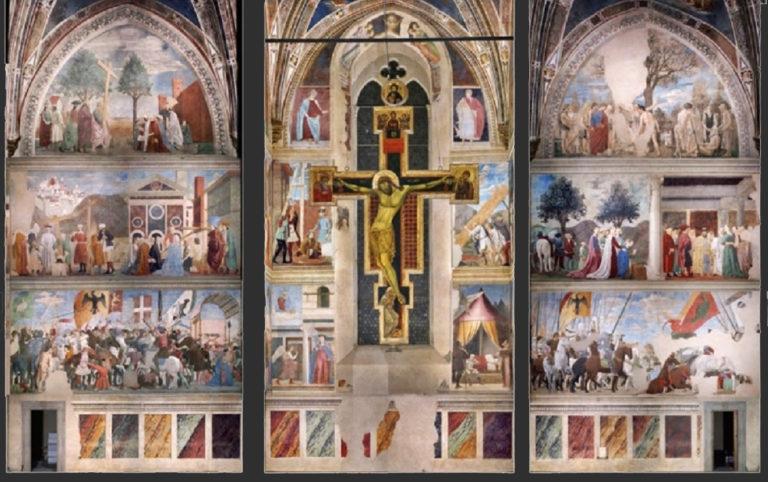 Цикл фресок «Истории Животворящего Креста». 1452–1466
