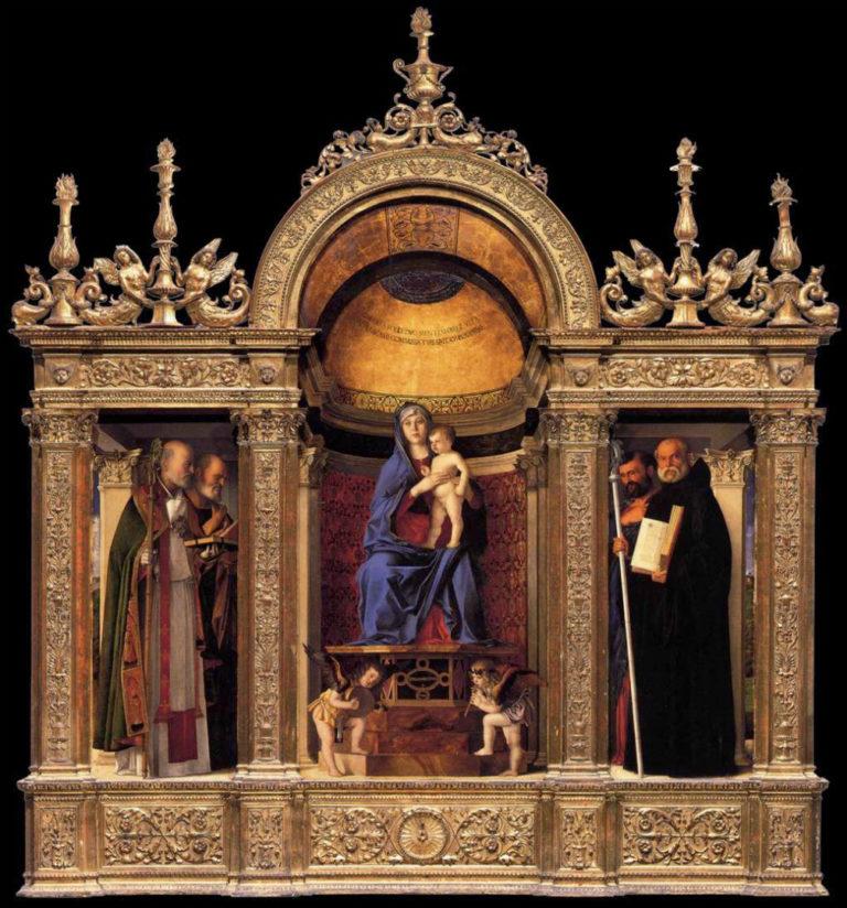 Триптих Фрари. 1488