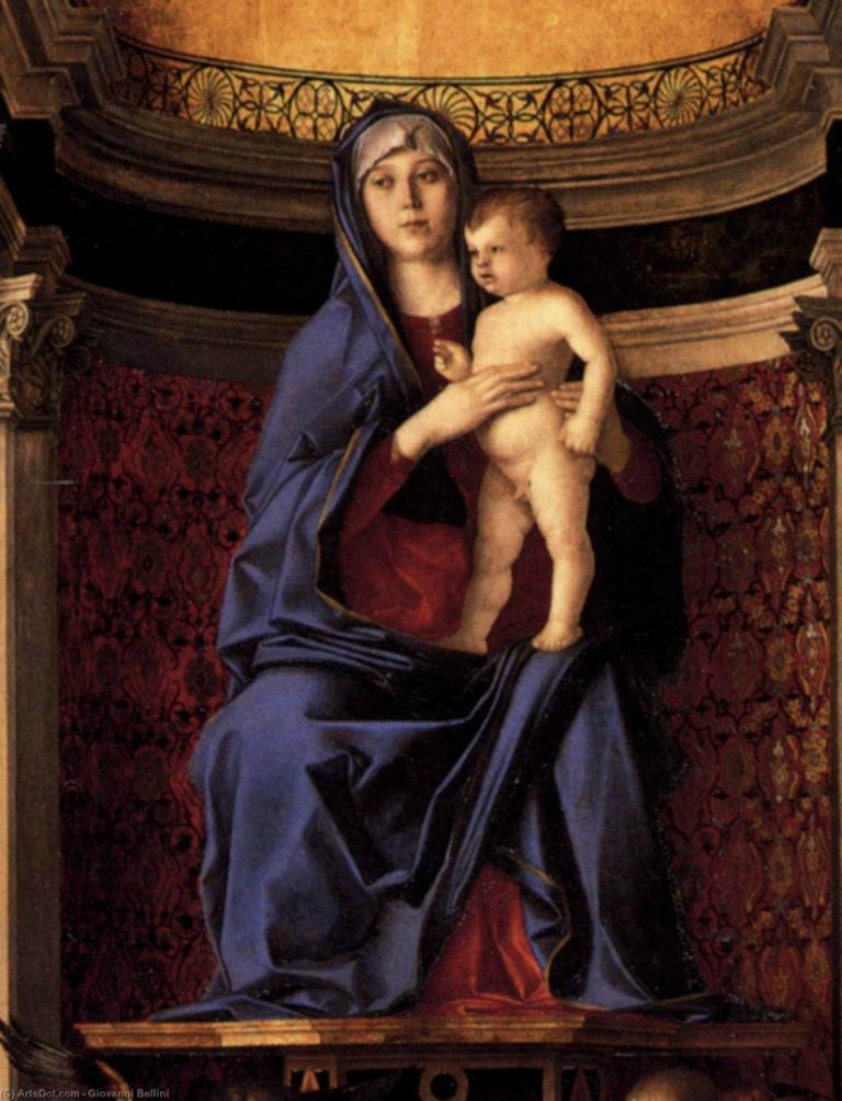 Триптих Фрари. Центральная часть. 1488