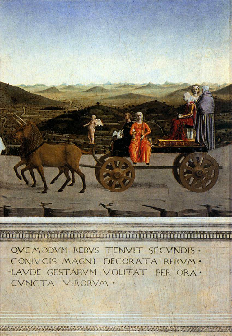 Триумф Баттисты Сфорца. 1465–1472