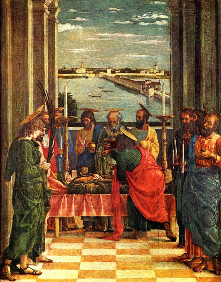 Успение Девы Марии. Ок. 1462