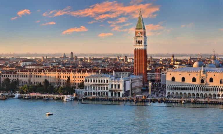 Вид на площадь Сан-Марко, Венеция