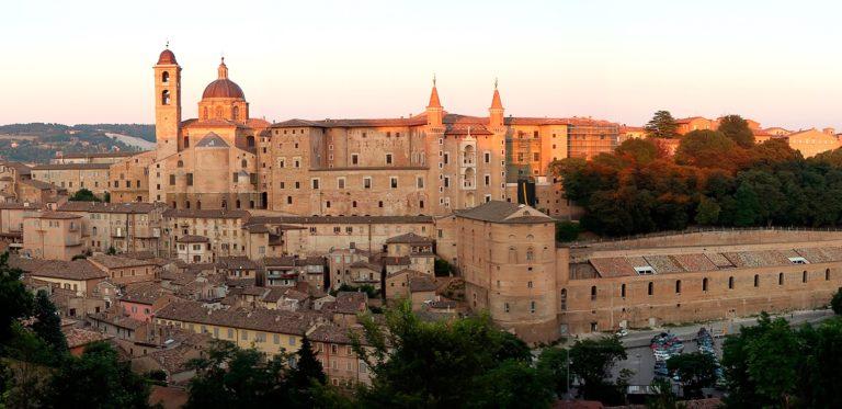 Вид на собор и герцогский дворец