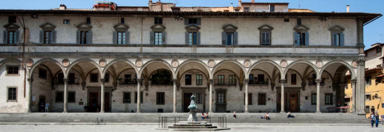 Воспитательный дом. Фасад. 1419–1445