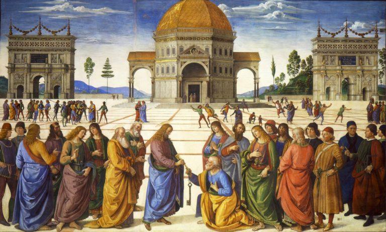 Вручение ключей св. Петру. Ок. 1482