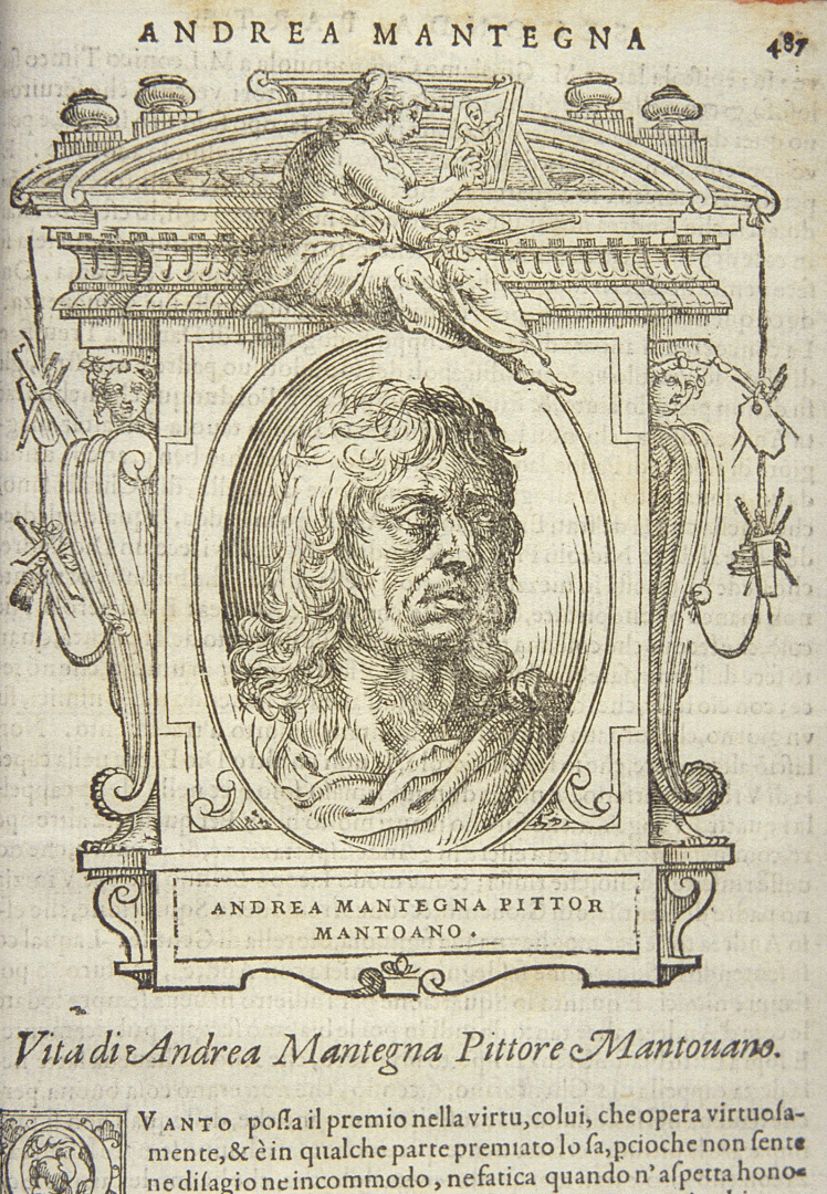 Вымышленный портрет Андреа Мантенья. 1767