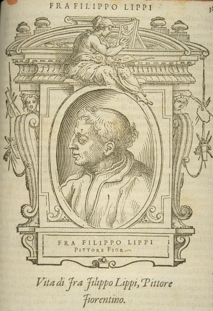 Вымышленный портрет Филиппо Липпи. 1568