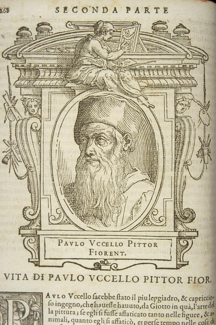 Вымышленный портрет Паоло Уччелло. 1767