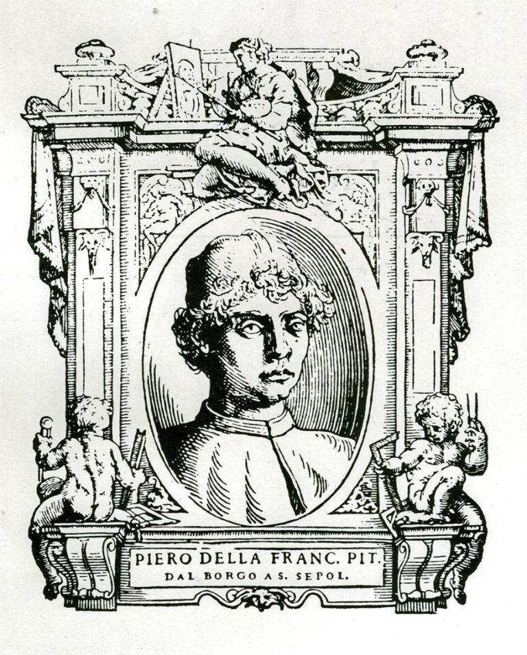 Вымышленный портрет Пьеро делла Франческа. 1767