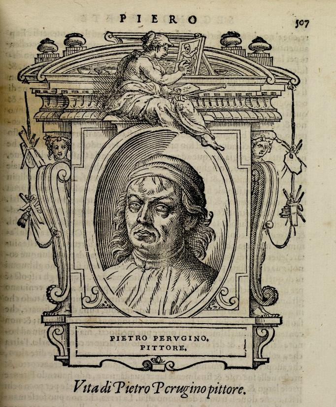 Вымышленный портрет Пьетро Перуджино. 1568