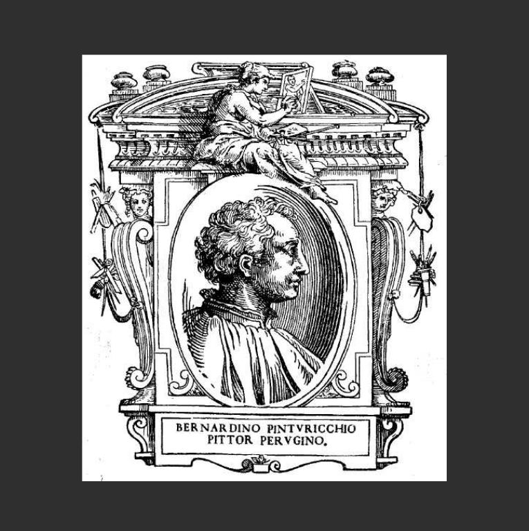 Вымышленный портрет Пинтуриккио. 1568
