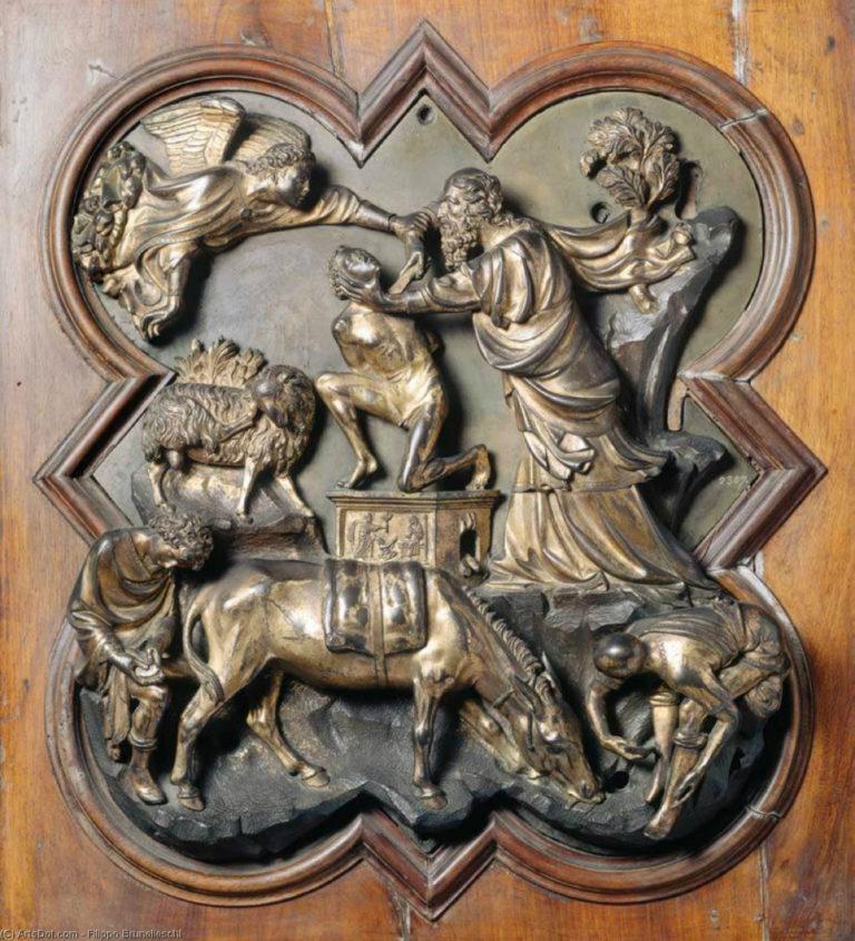 Жертвоприношение Авраама. 1401