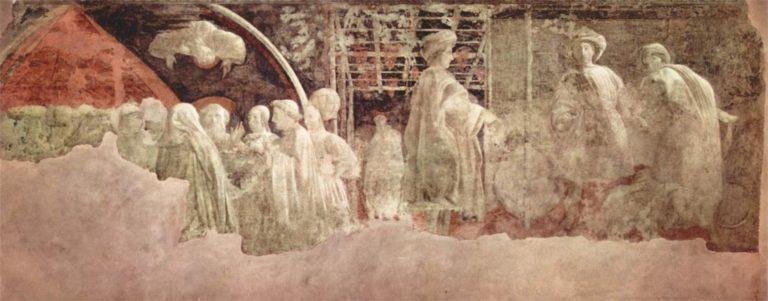 Жертвоприношение Ноя и опьянение Ноя. Ок. 1447