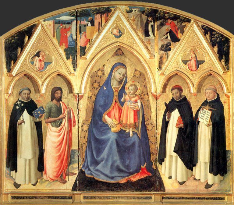 Алтарь Сан Пьетро Мартире. 1427–1429
