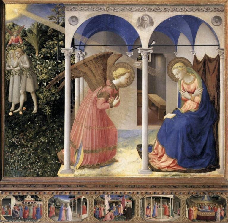 Благовещение. 1430–1432