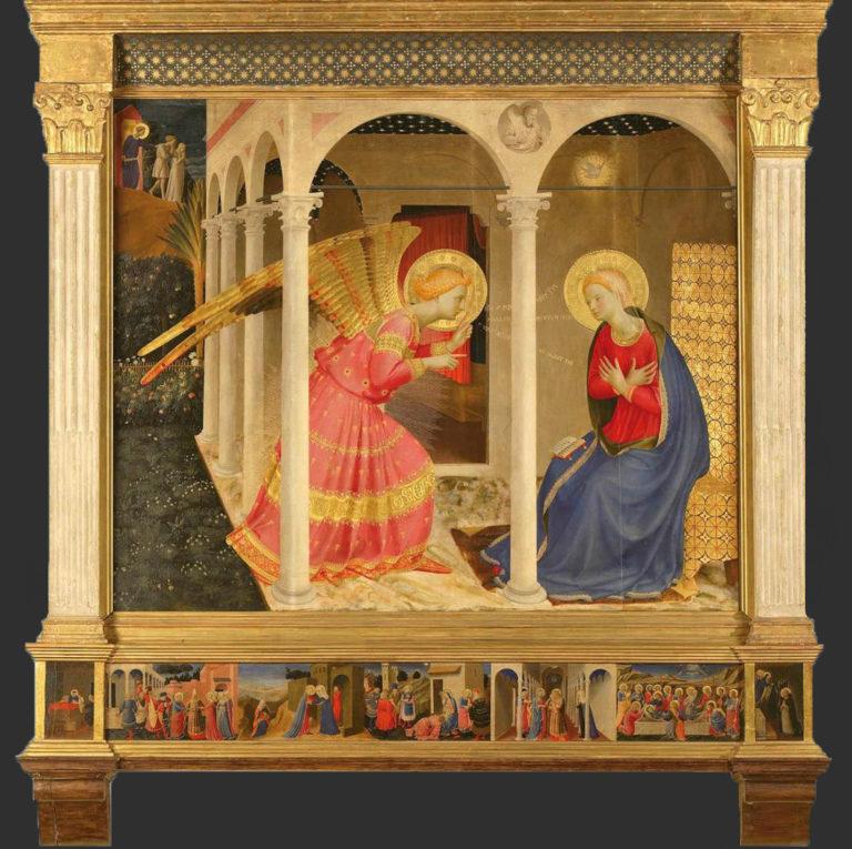 Благовещение. 1433–1434