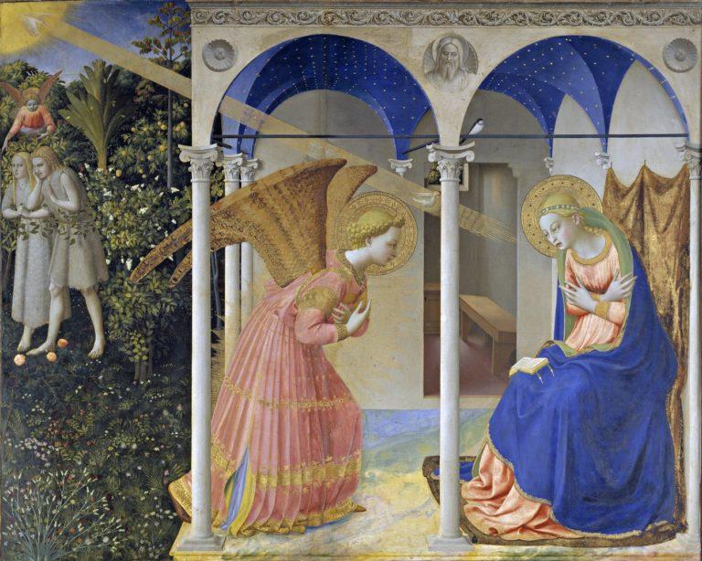 Благовещение. Центральная часть. 1430–1432
