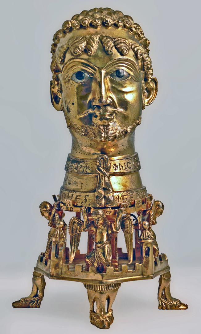 Бюст-реликварий Фридриха I Гогенштауфена. 1155–1171