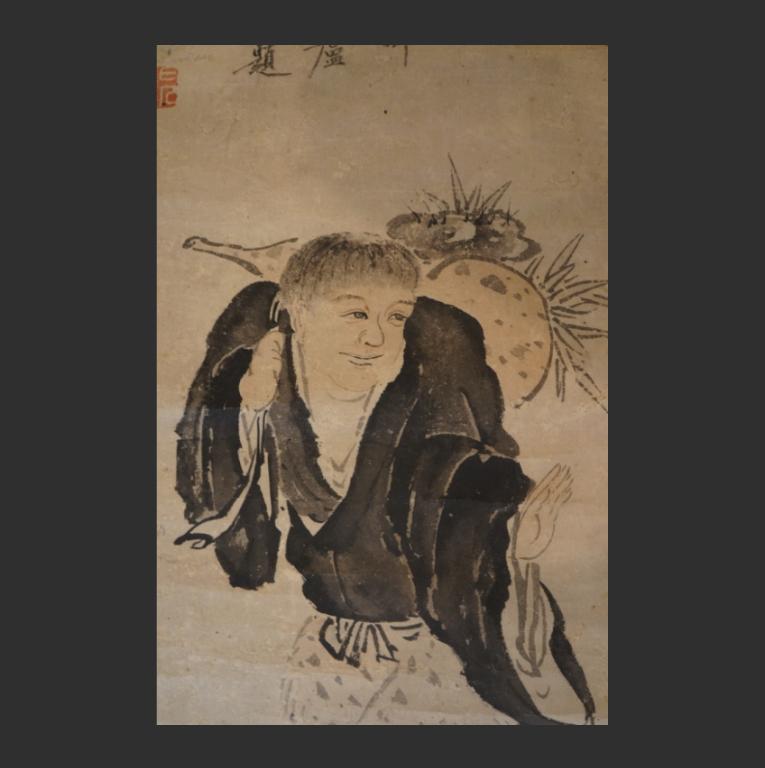 Даосский бессмертный с тыквой-горлянкой. Китай, 1501