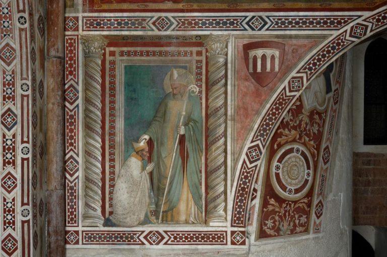 Епископ Понтано и св. Руфин. Ок. 1308