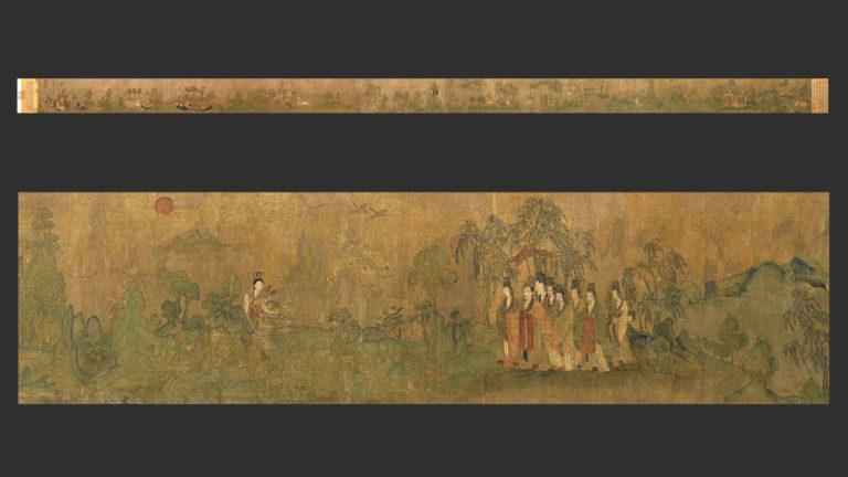 Фея реки Ло. Копия периода Сун (960–1279) со свитка VI в. или с оригинала