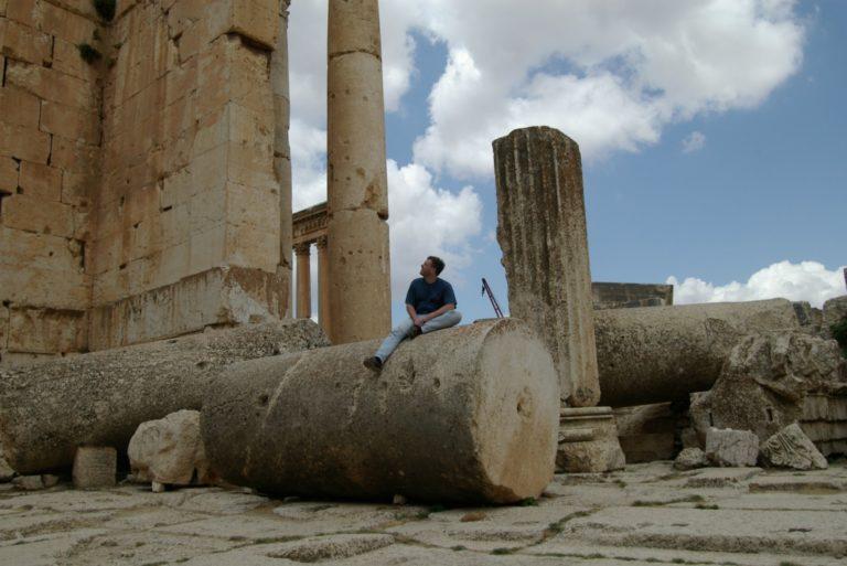 Фрагмент колонны римского периода