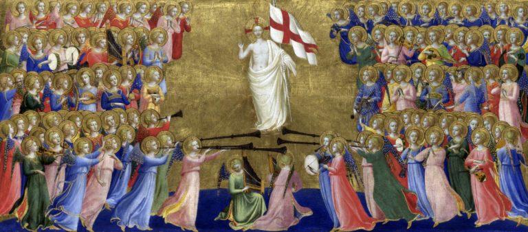 Фрагмент пределлы алтаря Сан Доменико. 1424–1425