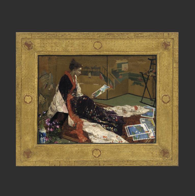 Каприз в пурпуре и золоте (двоеточие) Золотая ширма. 1864