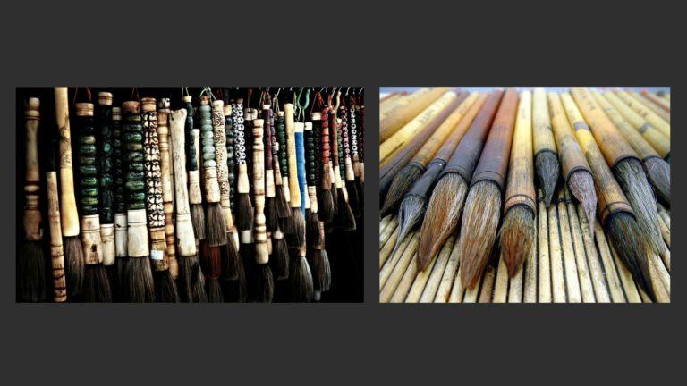 Китайские кисти для каллиграфии и живописи