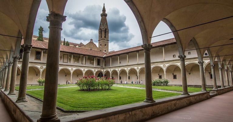 Клуатр монастыря Сан Марко, Флоренция