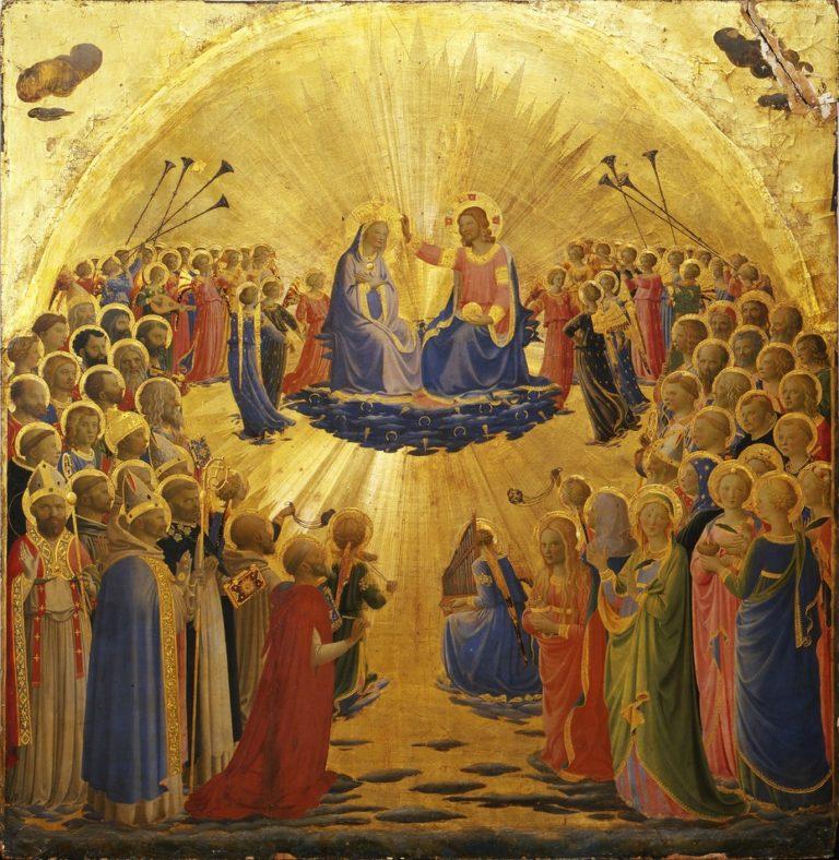 Коронование Девы Марии. Ок. 1432
