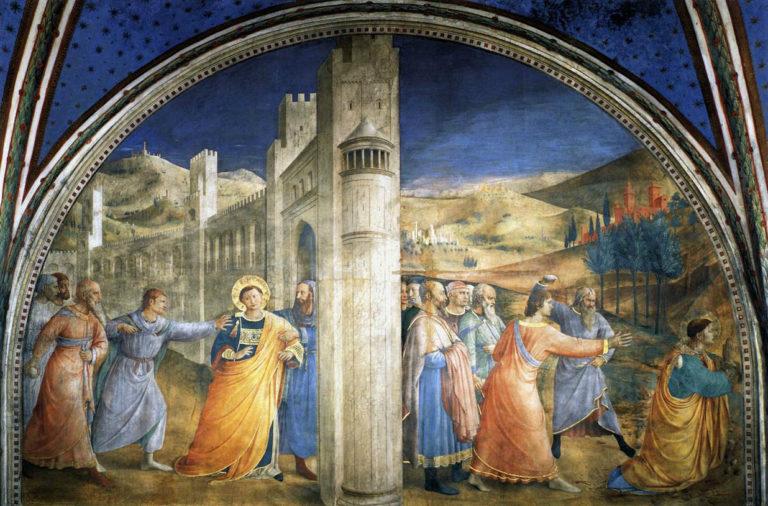 Мученичество св. Стефана. 1447–1448
