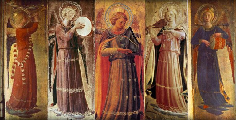 Музицирующие ангелы. 1433