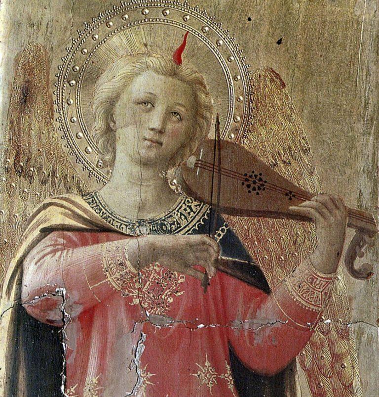 Музицирующий ангел. 1433