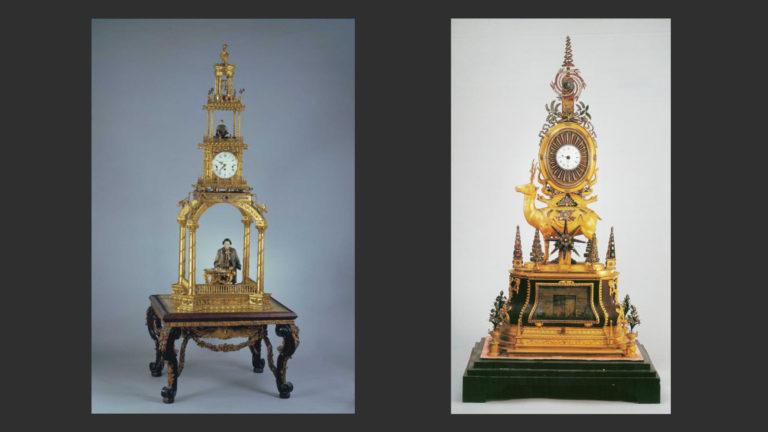 Образцы европейских часов из коллекции императора Цяньлуна. XVІІІ в.