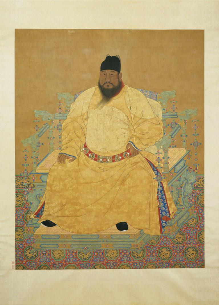 Портрет Сюандэ (Чжу Чжаньцзи, 1399–1435), пятого императора династии Мин
