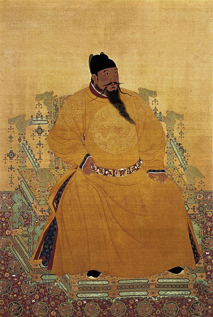 Портрет Юнлэ (Чжу Ди, 1360–1424), третьего императора династии Мин