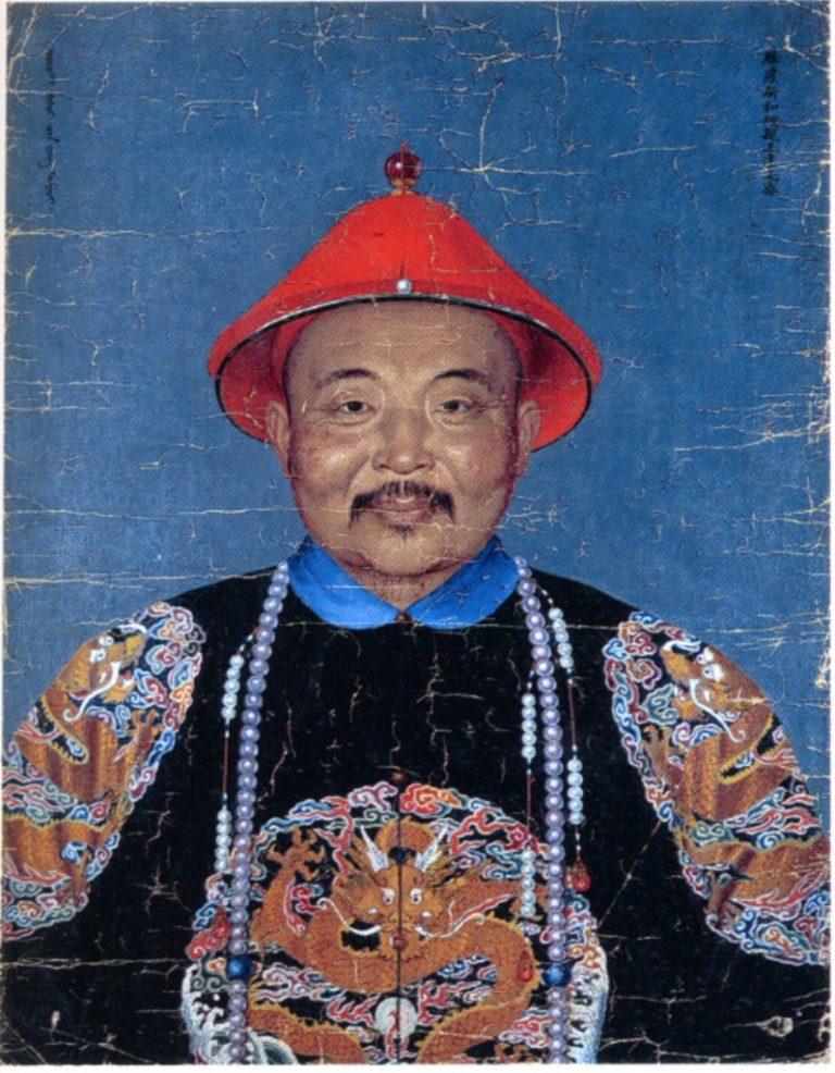Портрет джунгарского хана Даваци, проживавшего в Пекине и женатого на китайской принцессе. Ок. 1755–1759