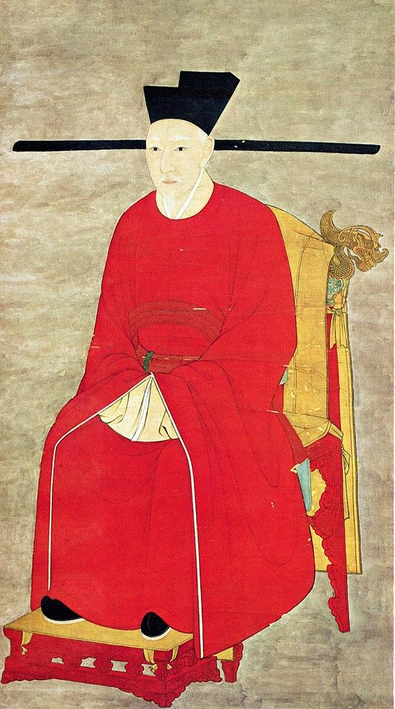 Портрет императора Гао-цзуна. Династия Сун (960–1279)