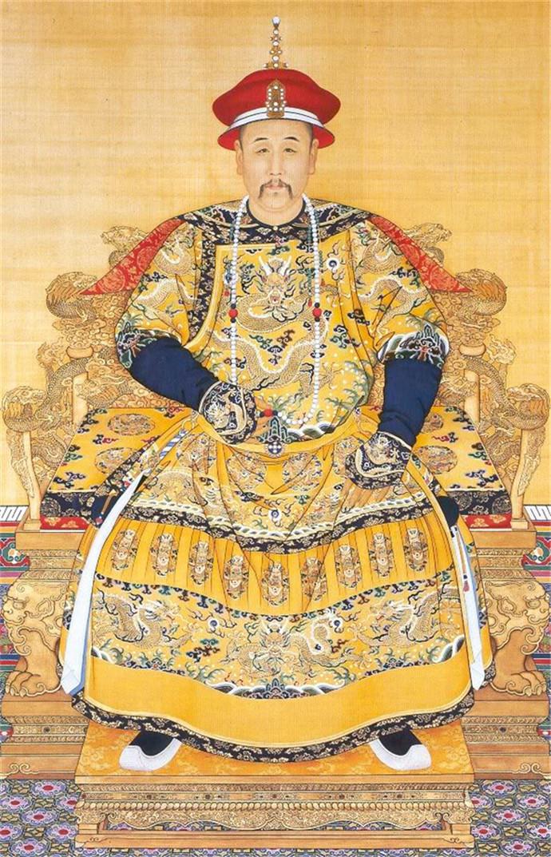 Портрет императора Юнчжэна (Айсиньгёро Иньчжэнь, 1678–1735, правил с 1722) на троне