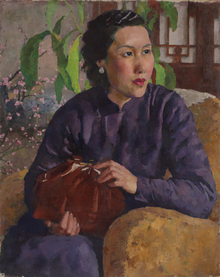 Портрет жены художника. 1947