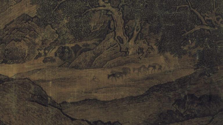 Путники среди рек и гор. Фрагмент. Караван. X–XI вв.
