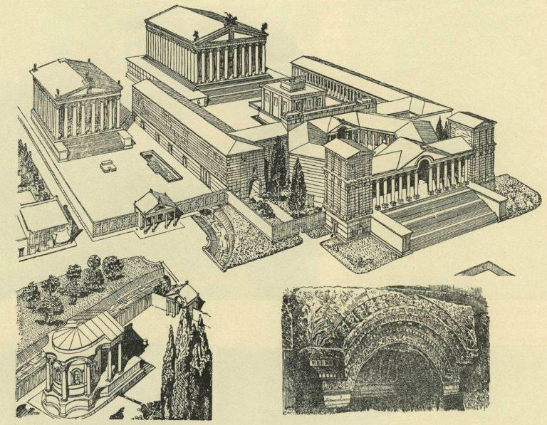Римский храмовый комплекс в Баальбеке