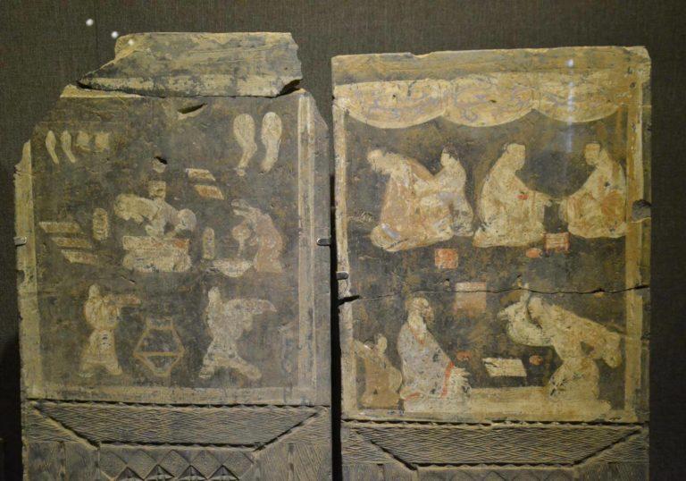 Роспись из гробницы. Период Синь (9–25 н.э.)